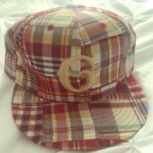 Goods plaid hat 7 1/2